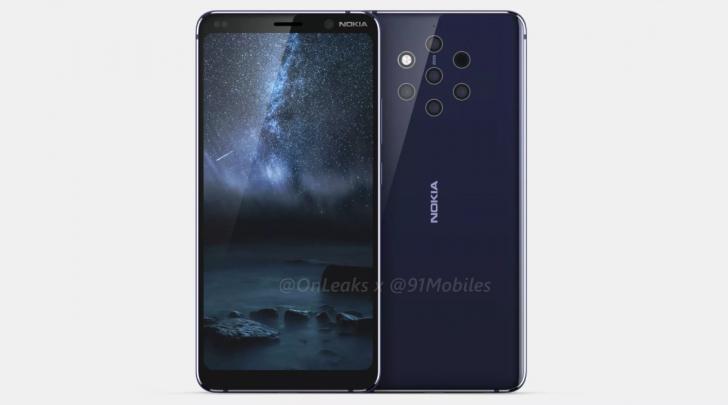 Photo of Penampakan Nokia 9 Pureview Menggunakan 5 Kamera