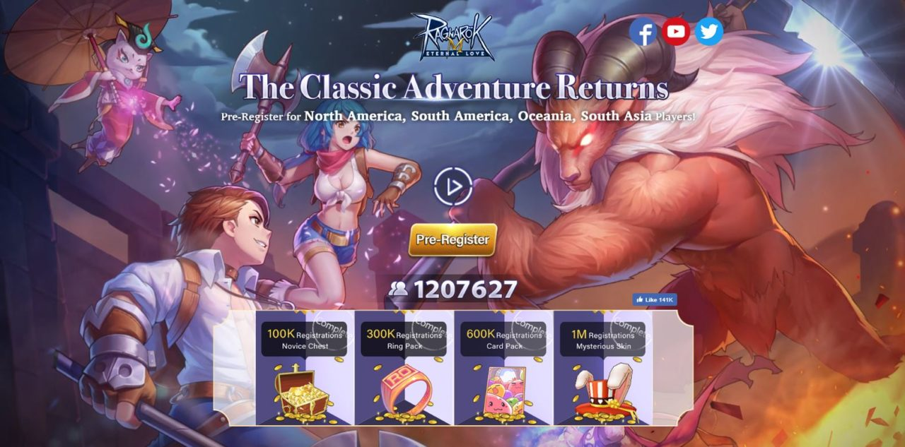 Photo of Ragnarok M: Eternal Love Global Dirilis Tanggal 9 Januari 2019