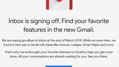 Photo of Selamat Tinggal Google Inbox