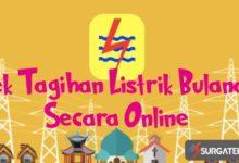 cek tagihan listrik bulanan online