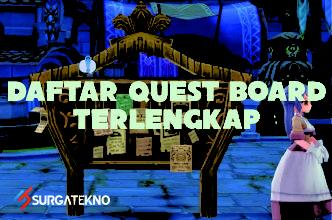 daftar quest board ragnarok eternal love