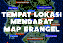 Photo of 7 Lokasi Tempat Mendarat Map Erangel PUBG