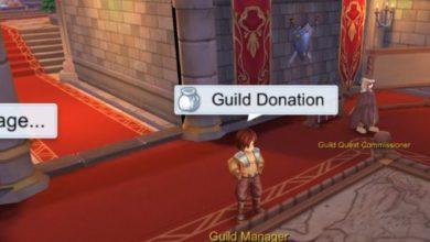 cara melakukan guild donation ragnarok mobile