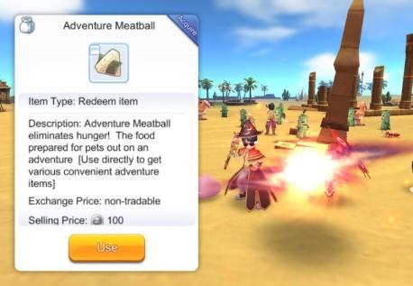 cara mendapatkan adventure meatballs