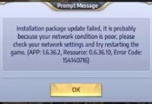 Photo of Cara Mengatasi Installation Package Update Failed Error Saint Seiya : Awakening