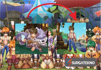 cara multi job ragnarok mobile