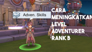 cara menjadi adventurer rank b dengan cepat