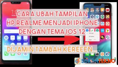 Photo of Cara Ubah Tampilan Realme menjadi Iphone