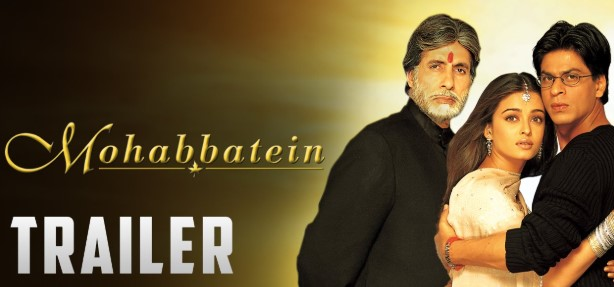 film kisah cinta india mohabbatein (2000)