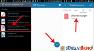 cara convert file pdf ke word di android dengan pdf converter