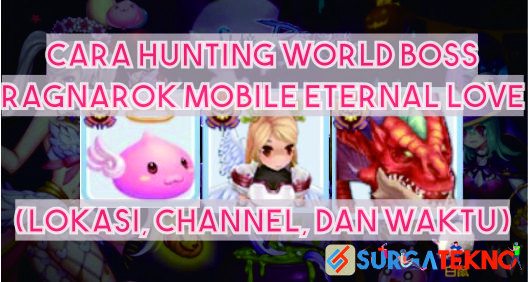 cara hunting world boss ragnarok mobile