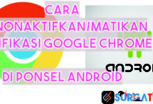 Photo of 2 Cara Menonaktifkan/Mematikan Notifikasi Chrome Android