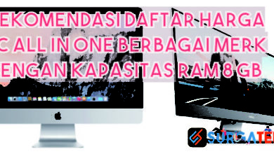 daftar harga pc all in one ram 8 gb