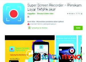 5 Aplikasi Perekam Layar Hp Android Tanpa Watermark