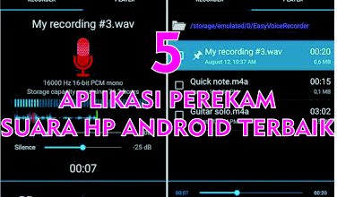 Photo of 5 Aplikasi Perekam Suara HP Android Terbaik