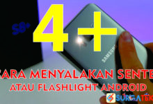 Photo of 5 Cara Menyalakan Lampu Senter/Flashlight Android