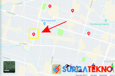 cari lokasi atau tempat di google maps
