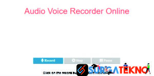 situs recording audio online audiovoicerecorder