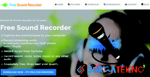 website perekam audio online freesoundrecorder