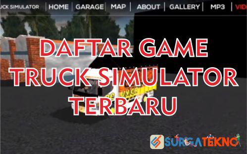 daftar game truck simulator android terbaru