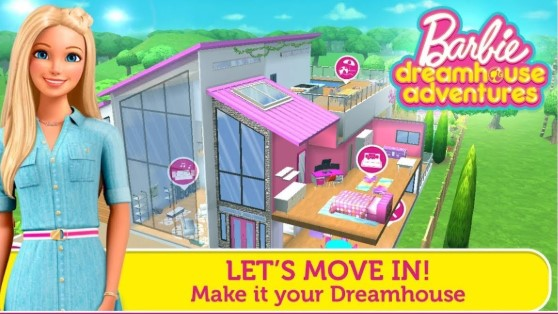 game barbie dreamhouse adventures