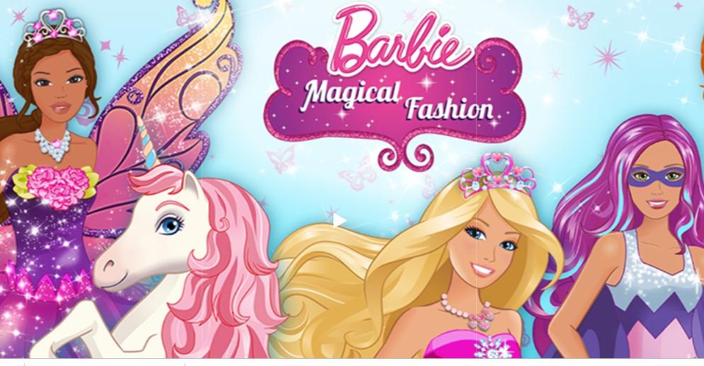 game barbie magical fashion
