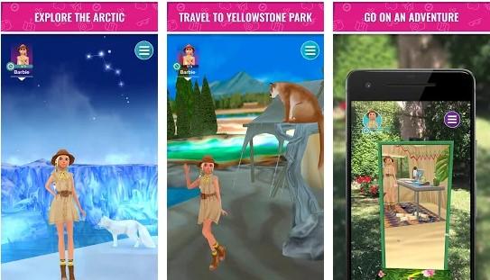 game barbie world explorer