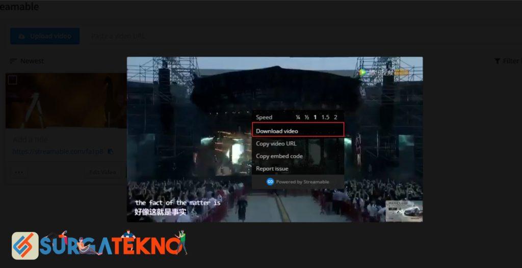 Download Video Youtube Menit Tertentu dengan Streamable