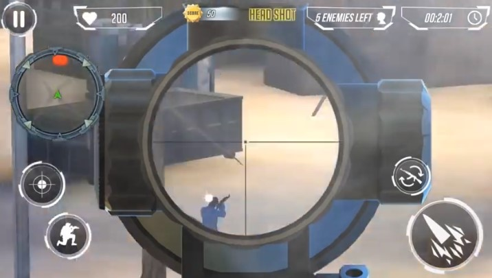 Modern Army Sniper Shooter Gameplay