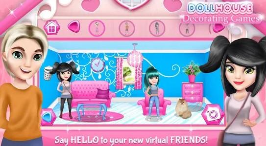Rumah Boneka Game Dekorasi Ruangan
