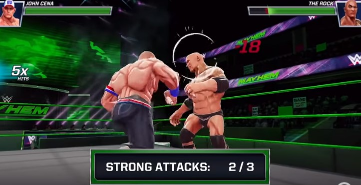 WWE Mayhem Android