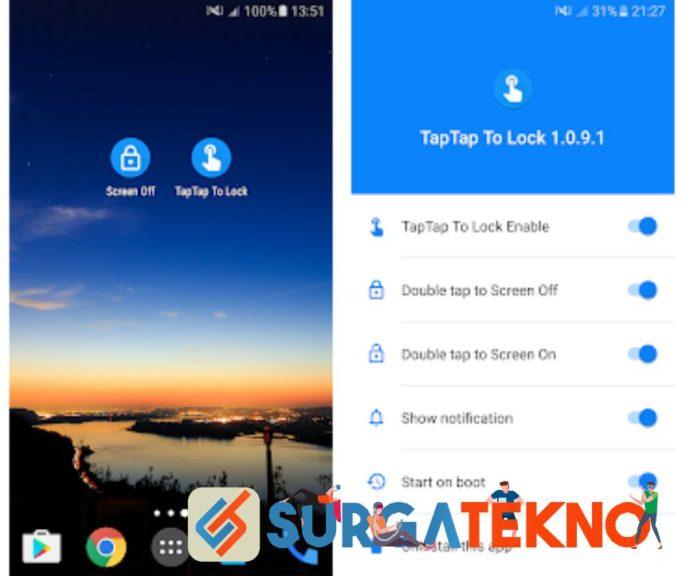 aplikasi double tap to screen on off