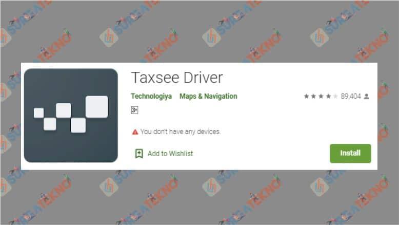 Aplikasi Taxsee Driver