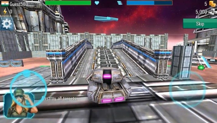 Iron Tanks 3D Online Battle Android