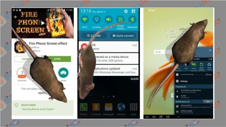 Lelucon Tikus di Ponsel - Android