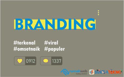 Melakukan Branding dengan Domain