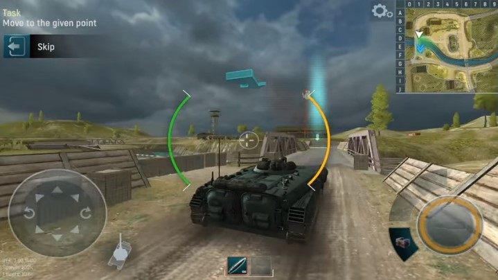 Tank Force Pertempuran Tank 3D Android