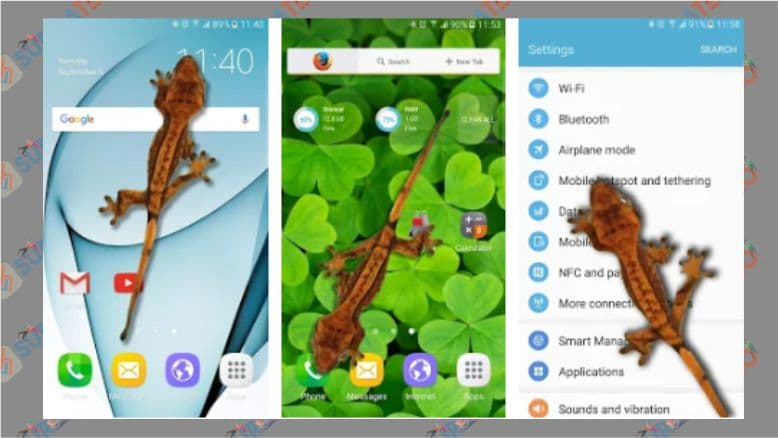 Tokek di Ponsel - Lelucon - Android