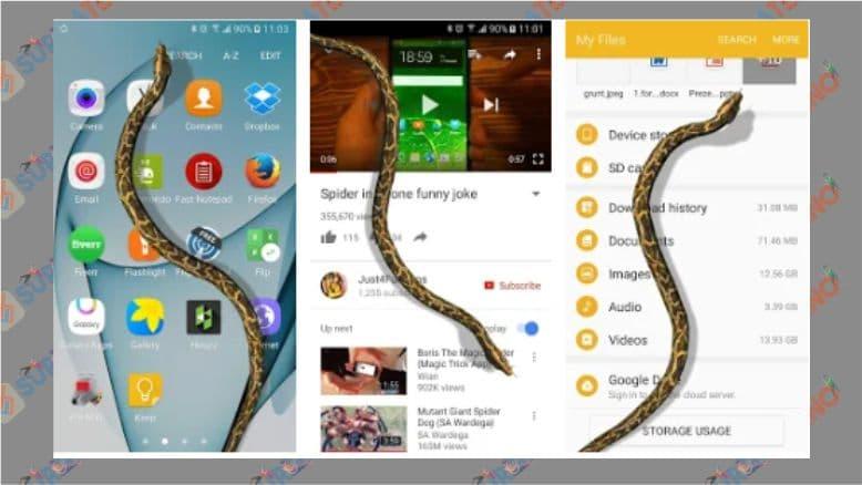 Ular Di Layar - Lelucon Desis - Android
