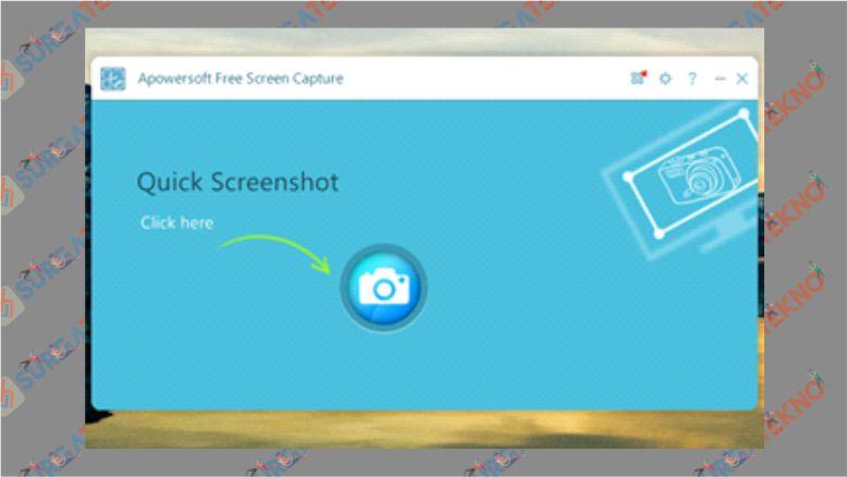 Aplikasi Apowersoft Free Screen Capture
