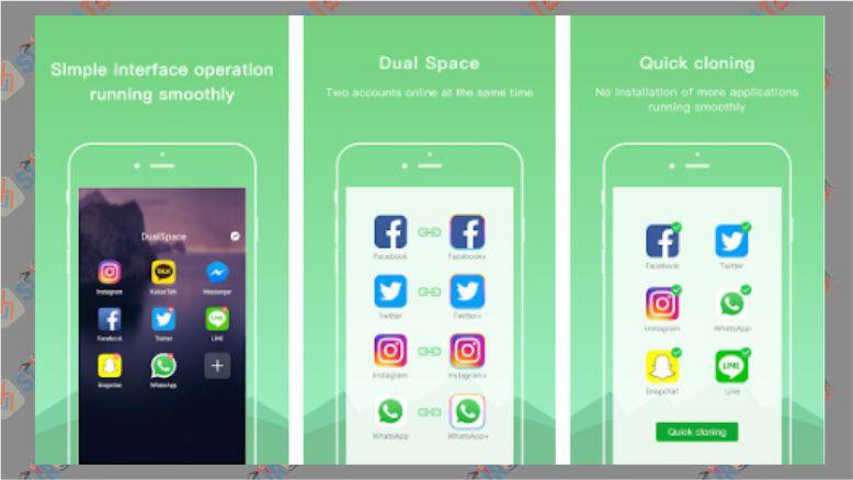 Aplikasi Dual Space