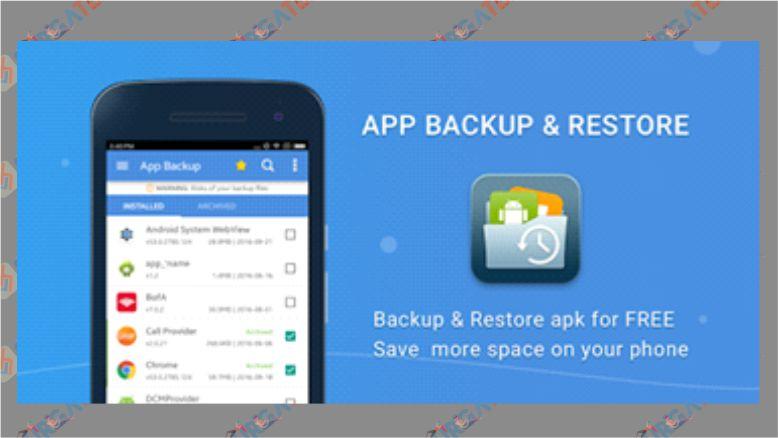 Cara Kirim File APK menggunakan App Backup & Restore