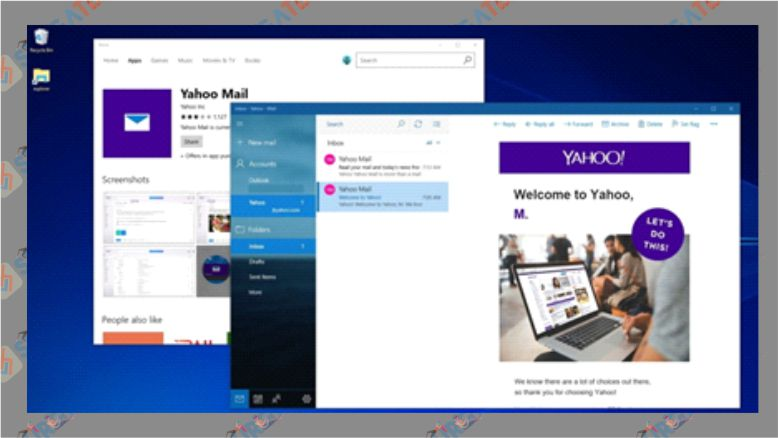 Cara Membuat Email Yahoo Lewat Laptop