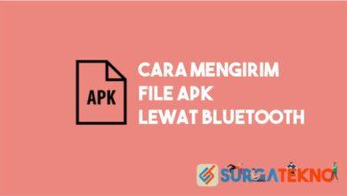 Cara Mengirim File APK Lewat Bluetooth