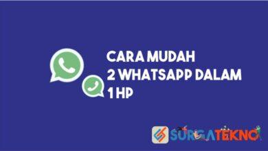 Cara Mudah 2 WhatsApp dalam 1HP