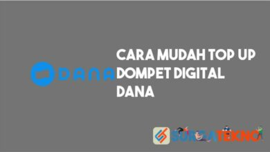 Photo of 5 Cara Top Up DANA Lengkap dan Mudah