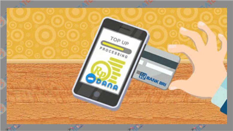 Cara Top Up DANA Lewat Bank BRI