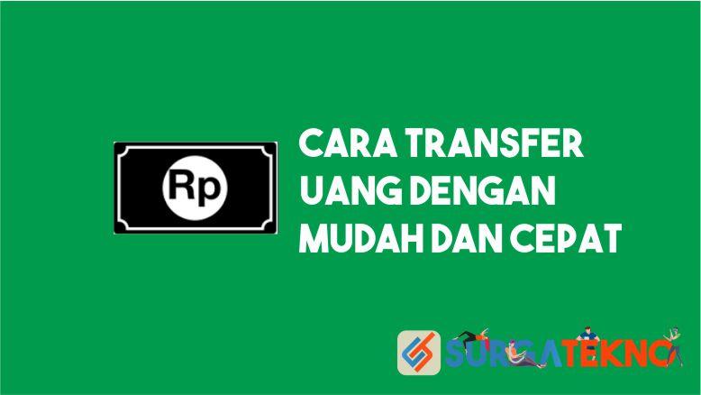 Cara Transfer Uang