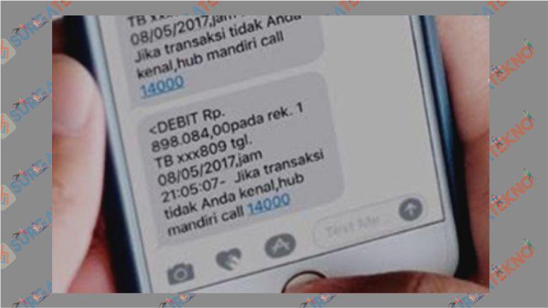 Cek Saldo Mandiri Lewat SMS Banking