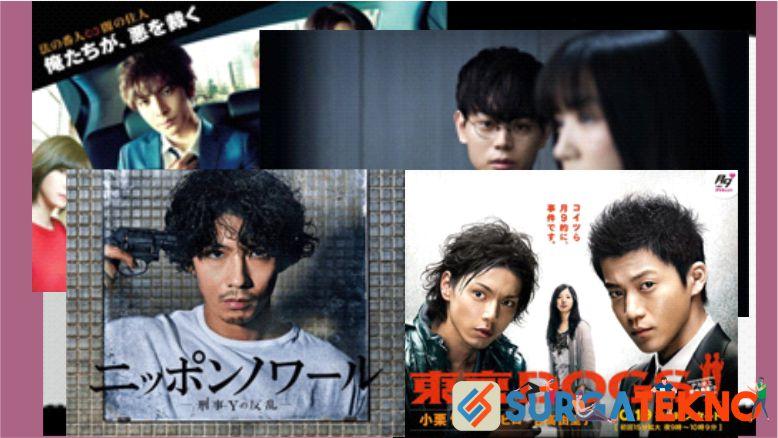 Daftar drama jepang dengan tema detektif